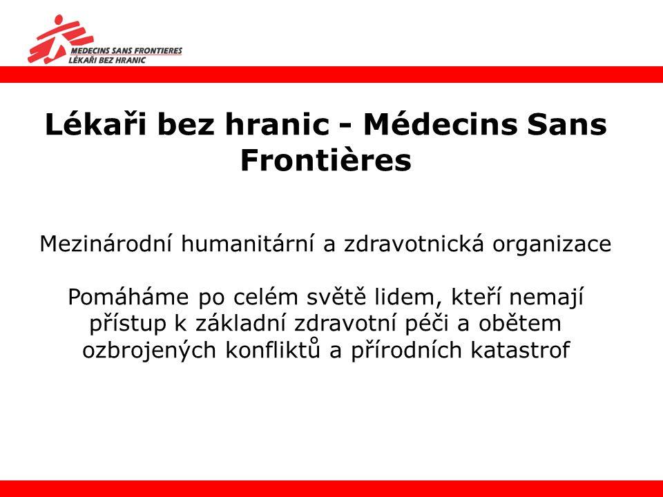 Lékaři bez hranic - Médecins Sans Frontières