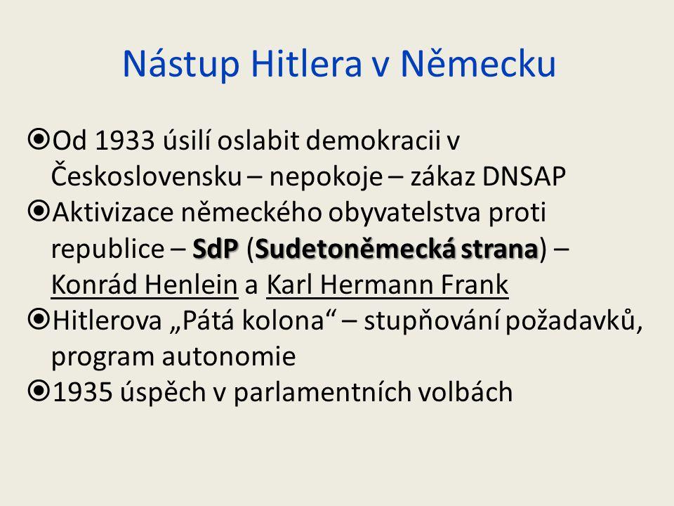 Nástup Hitlera v Německu
