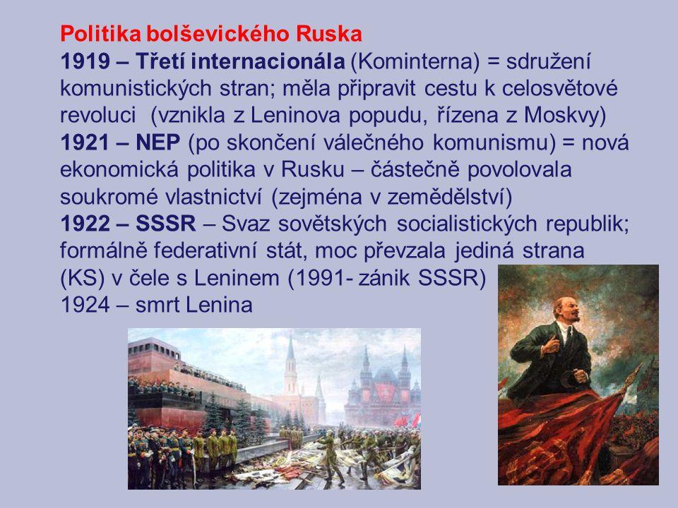 Politika bolševického Ruska