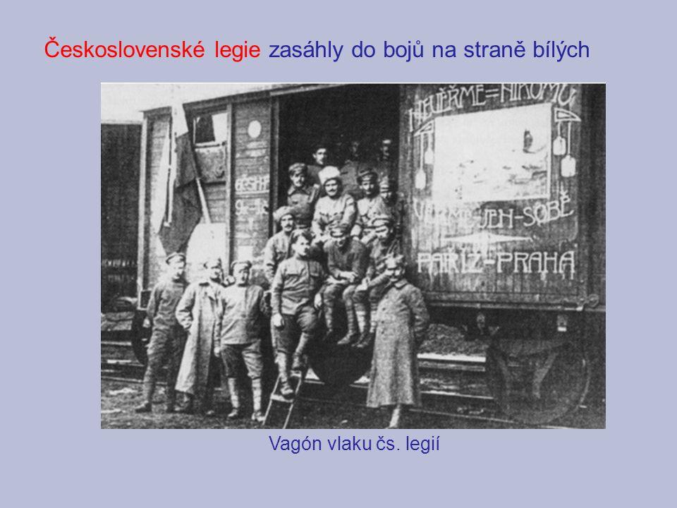Československé legie zasáhly do bojů na straně bílých