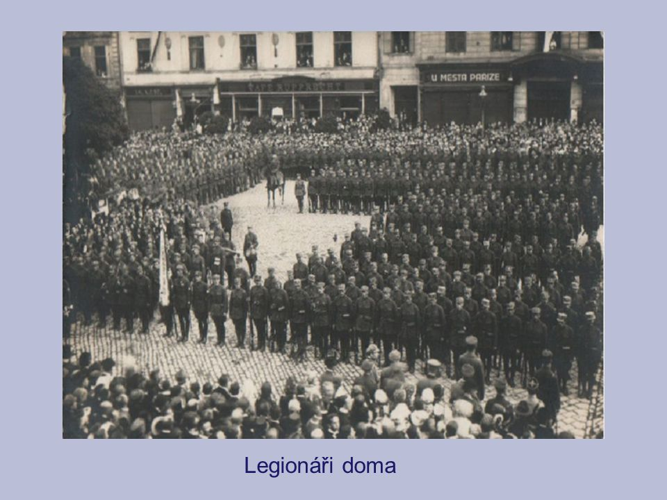 Legionáři doma