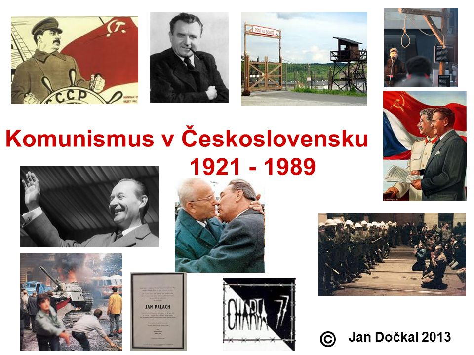 Komunismus v Československu 1921 - 1989