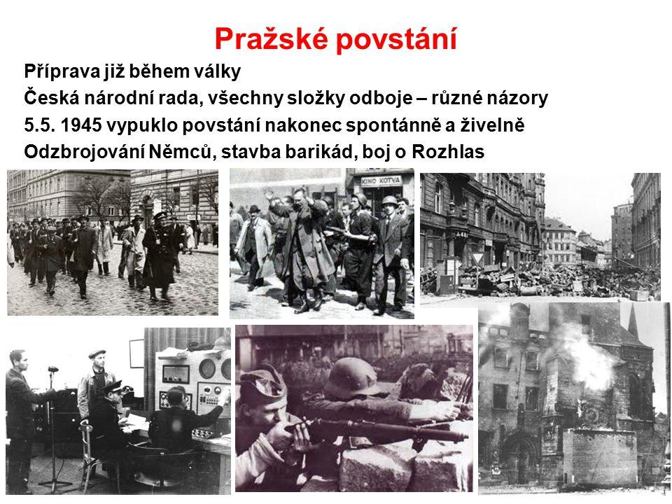 Pražské povstání Příprava již během války