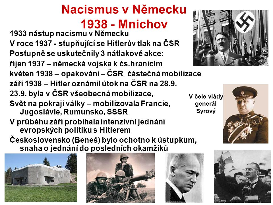 Nacismus v Německu 1938 - Mnichov