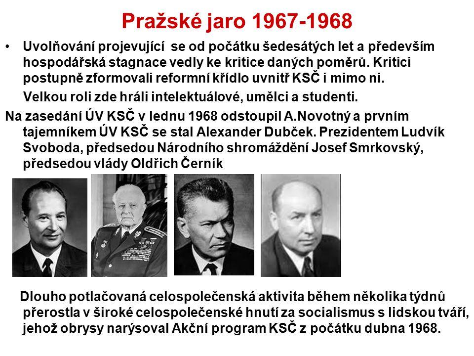 Pražské jaro 1967-1968