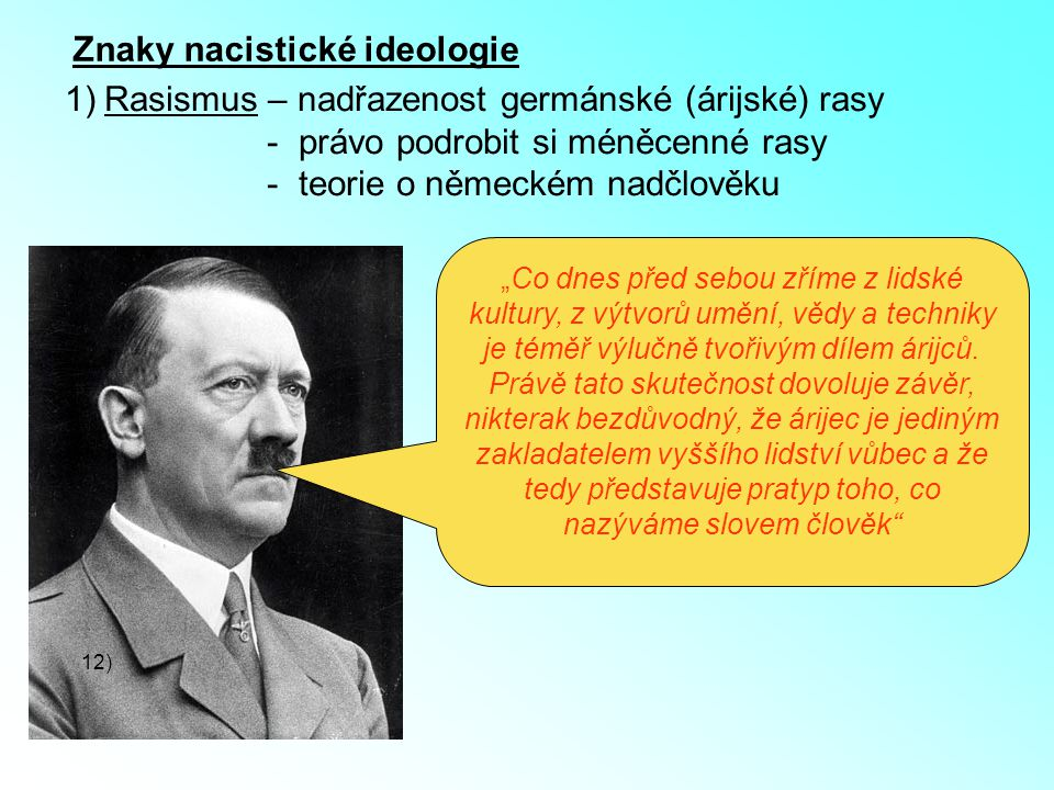 Znaky nacistické ideologie