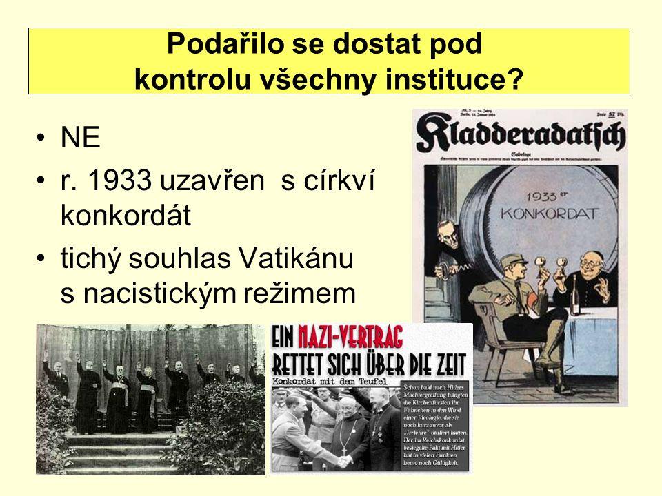 kontrolu všechny instituce