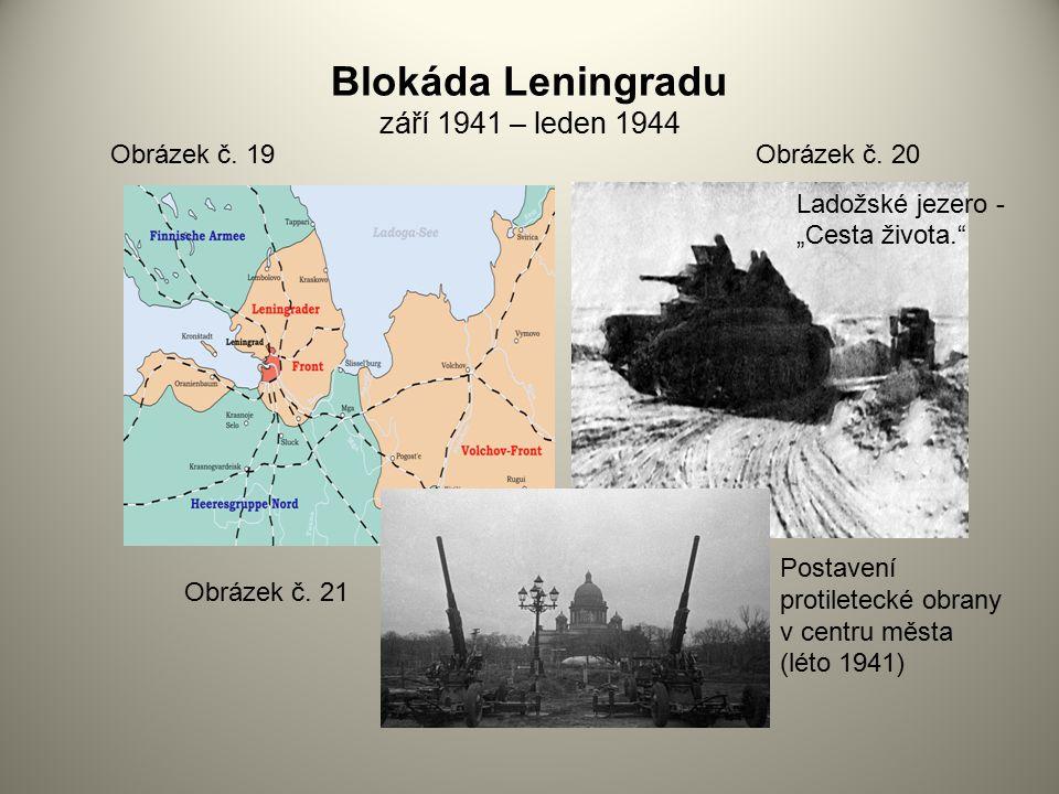 Blokáda Leningradu září 1941 – leden 1944