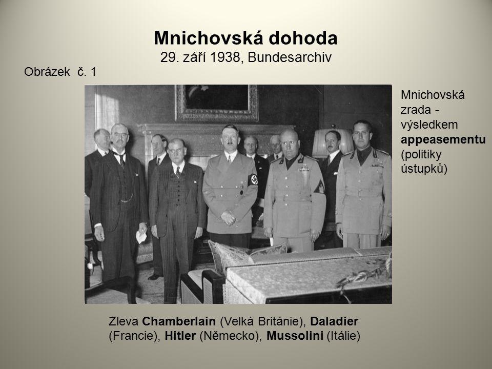 Mnichovská dohoda 29. září 1938, Bundesarchiv