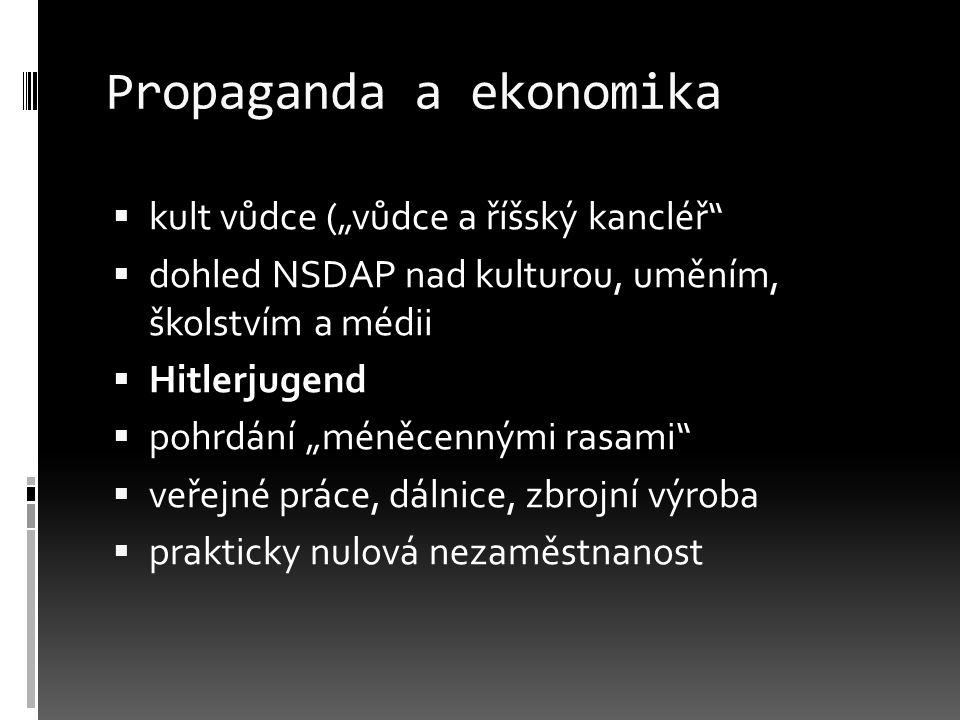 Propaganda a ekonomika