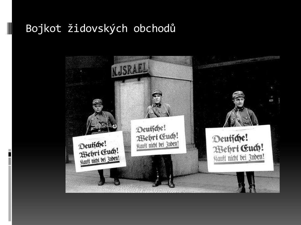 Bojkot židovských obchodů