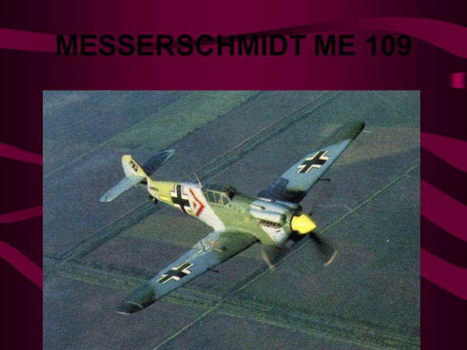 MESSERSCHMIDT ME 109