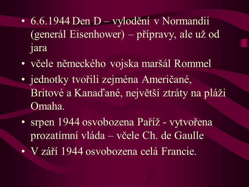 včele německého vojska maršál Rommel