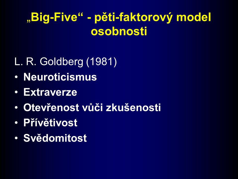 """""""Big-Five - pěti-faktorový model osobnosti"""