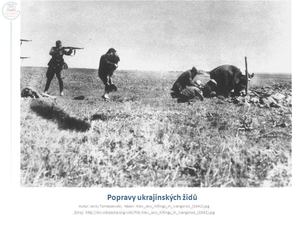 Popravy ukrajinských židů