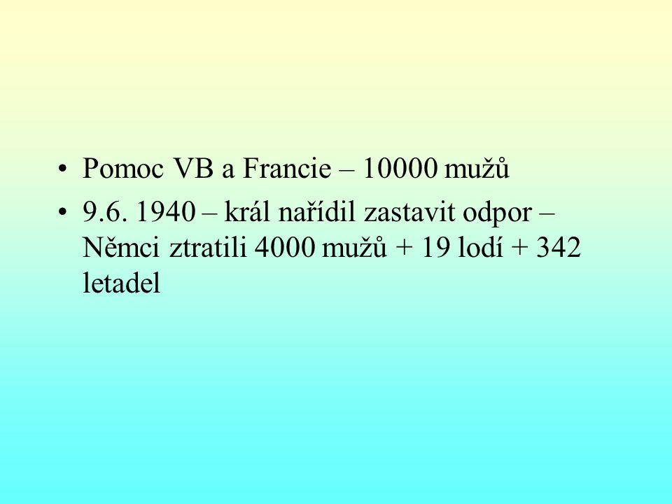 Pomoc VB a Francie – 10000 mužů