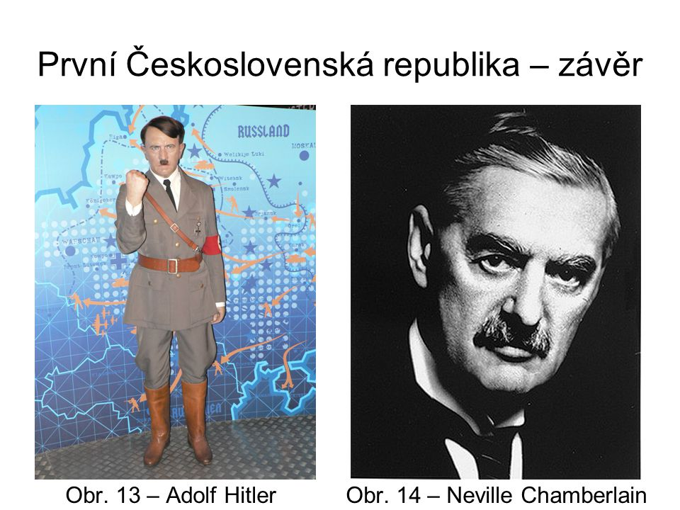 První Československá republika – závěr