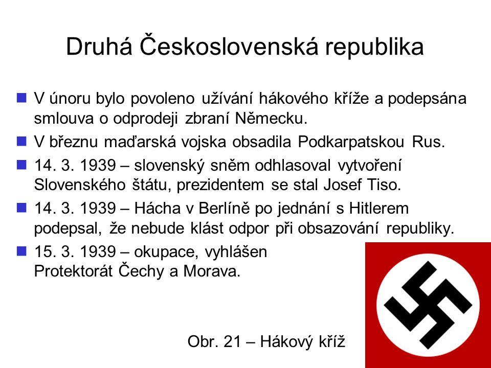 Druhá Československá republika