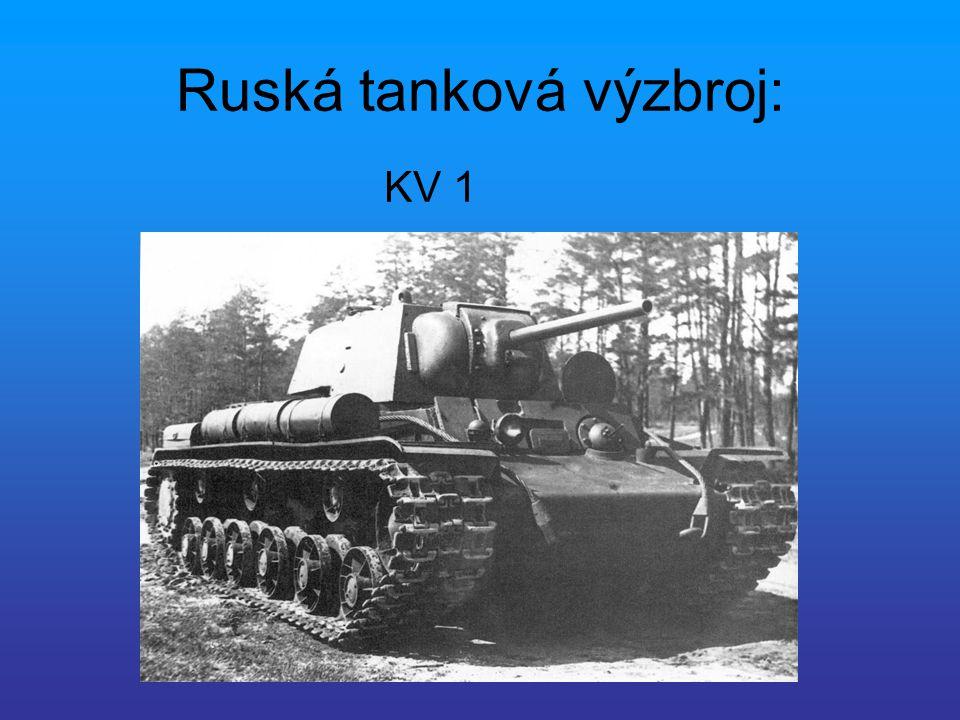 Ruská tanková výzbroj:
