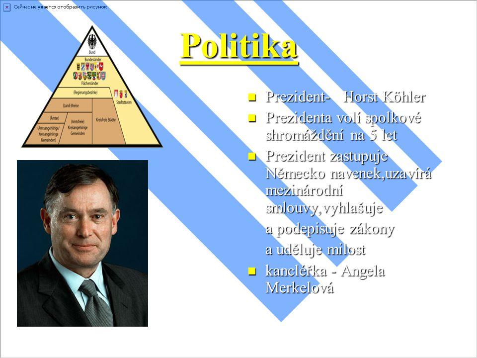 Politika Prezident- Horst Köhler