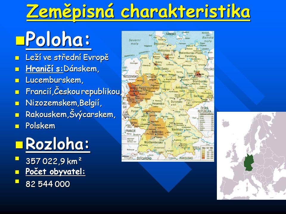 Zeměpisná charakteristika