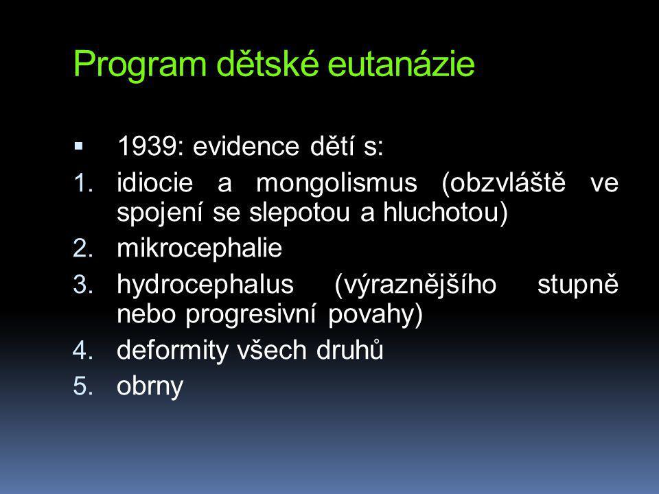 Program dětské eutanázie