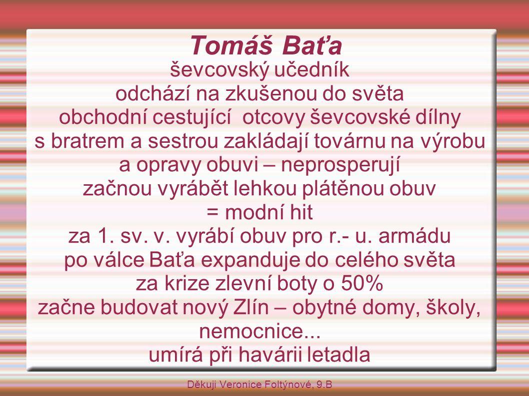 Tomáš Baťa ševcovský učedník odchází na zkušenou do světa