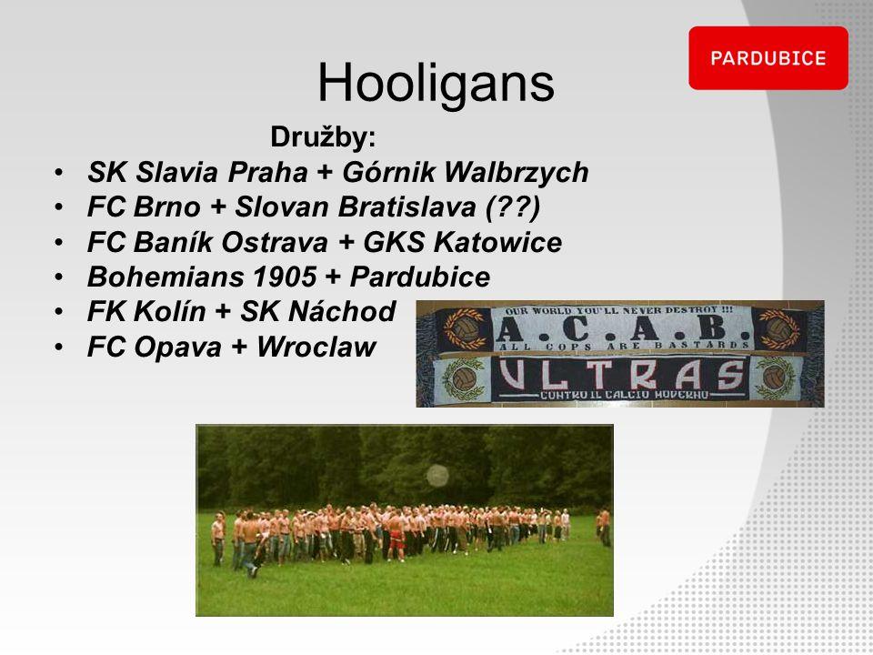 Hooligans Družby: SK Slavia Praha + Górnik Walbrzych