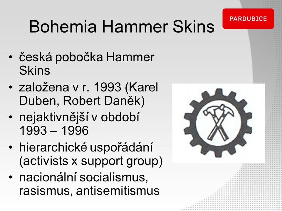 Bohemia Hammer Skins česká pobočka Hammer Skins