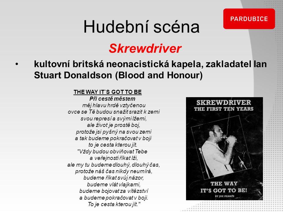 Hudební scéna Skrewdriver