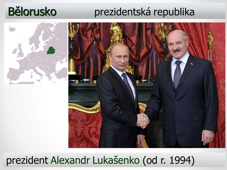 Bělorusko prezidentská republika