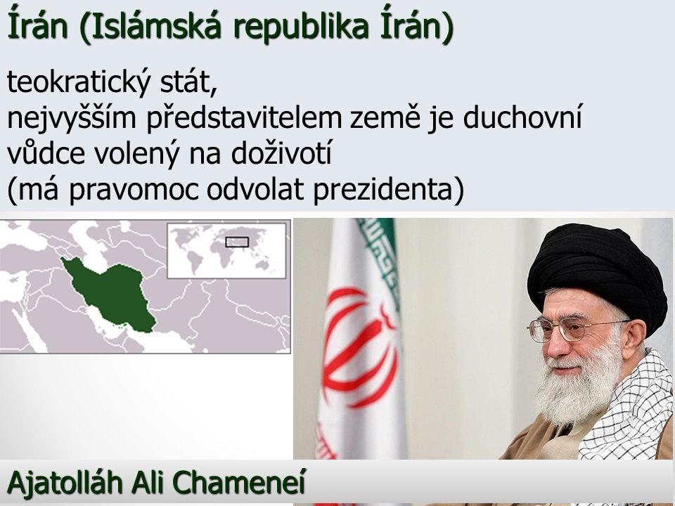 Írán (Islámská republika Írán)