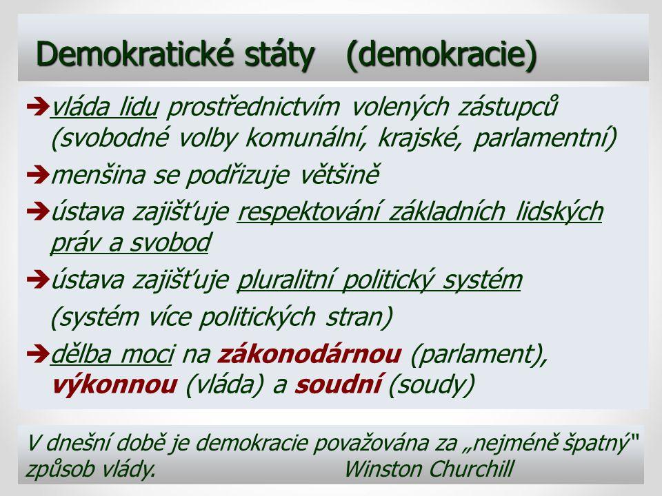 Demokratické státy (demokracie)