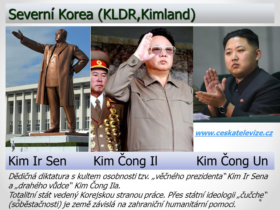 Severní Korea (KLDR,Kimland)