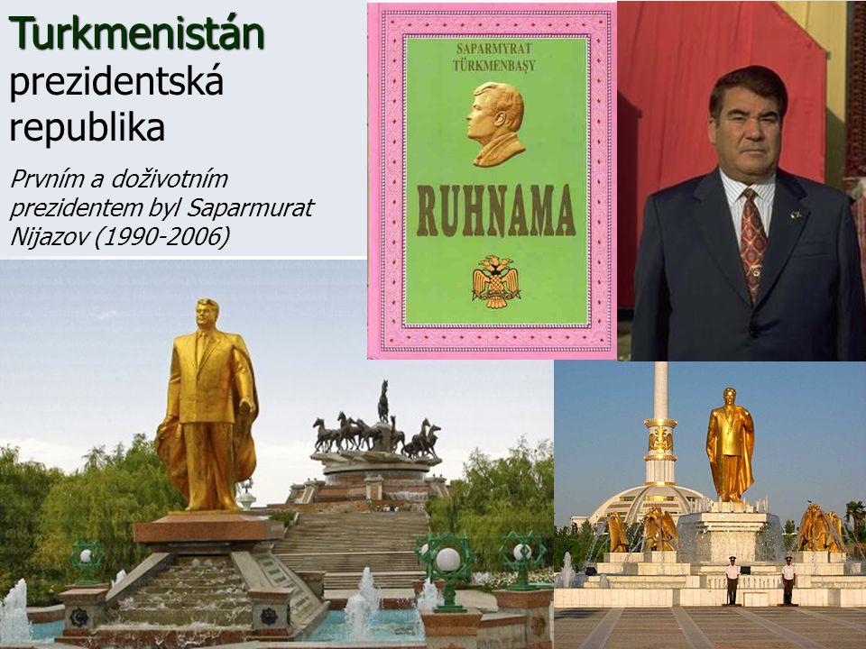 Turkmenistán prezidentská republika