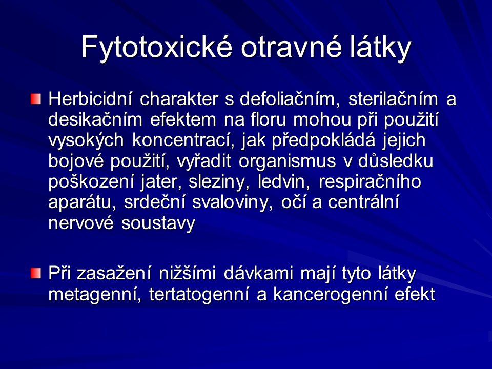 Fytotoxické otravné látky