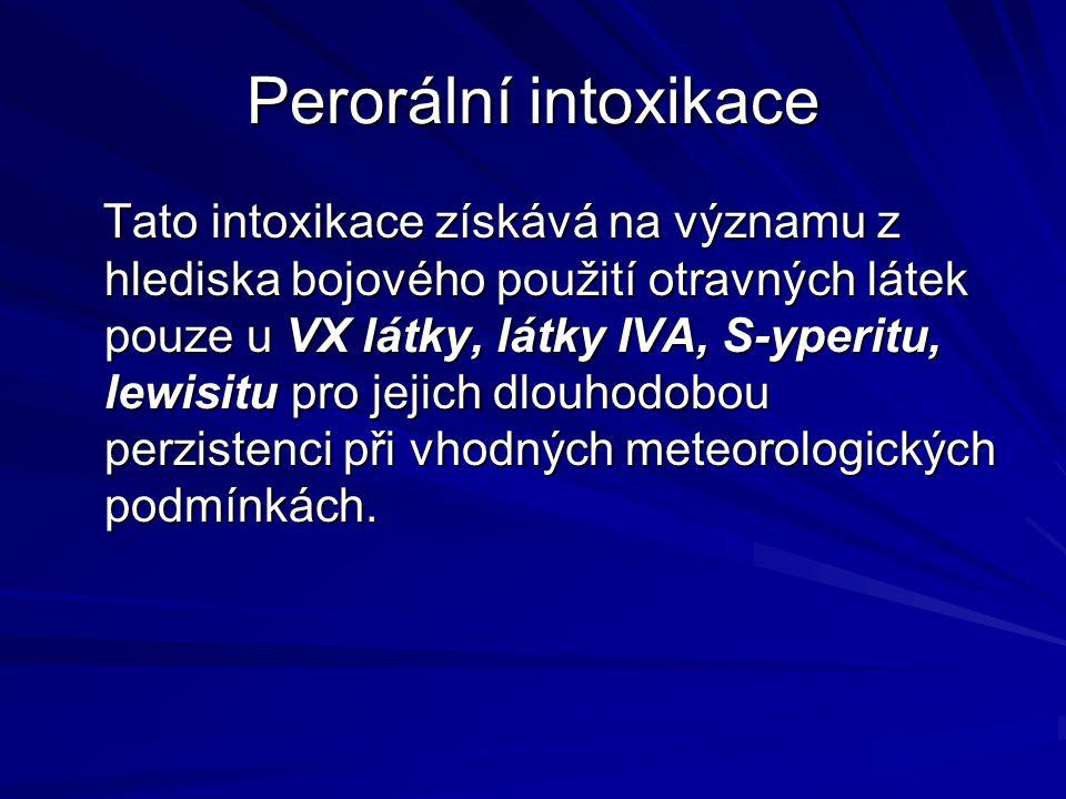Perorální intoxikace