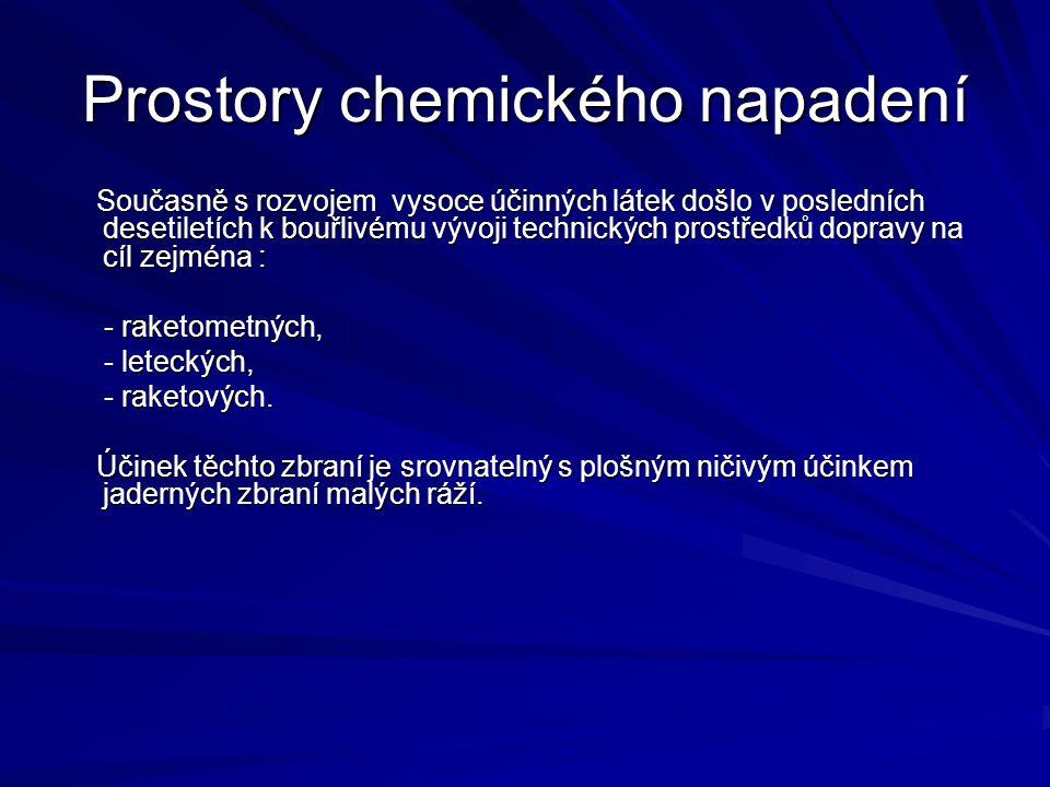 Prostory chemického napadení