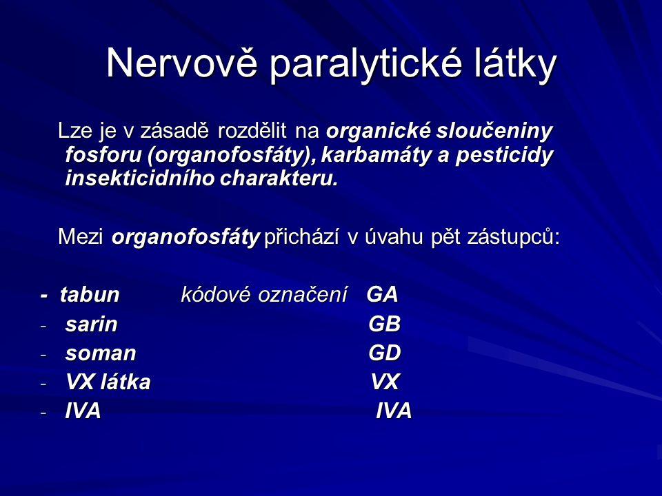 Nervově paralytické látky