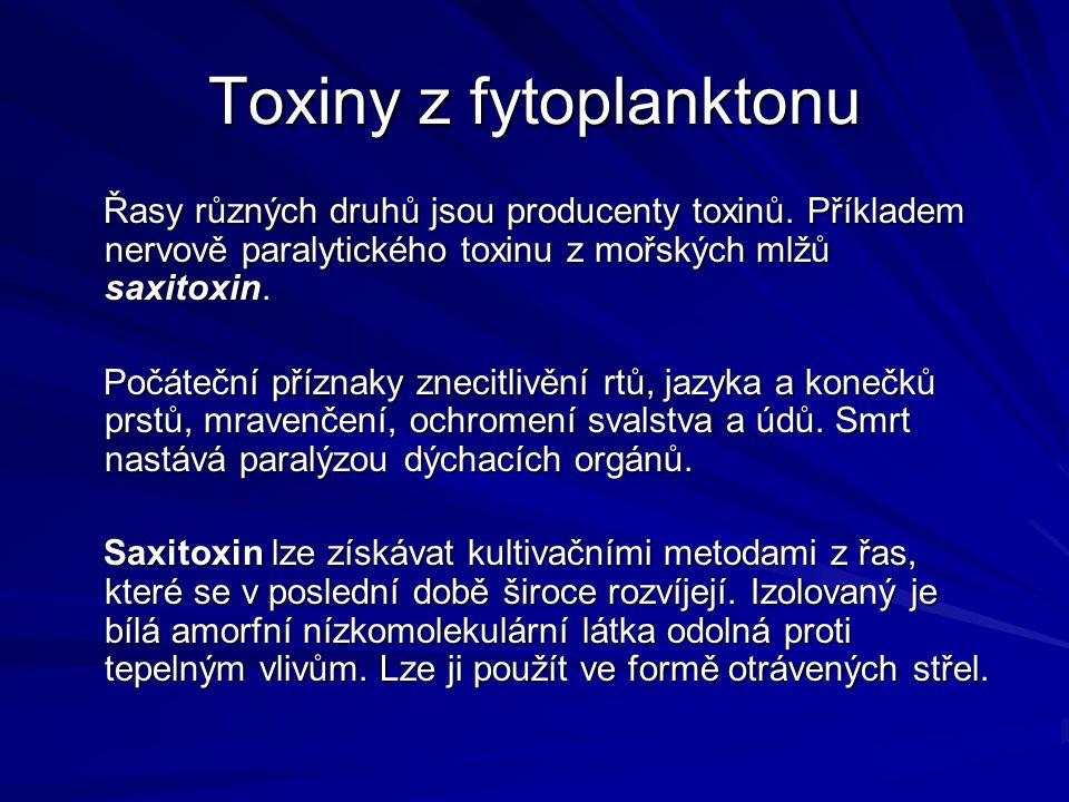 Toxiny z fytoplanktonu