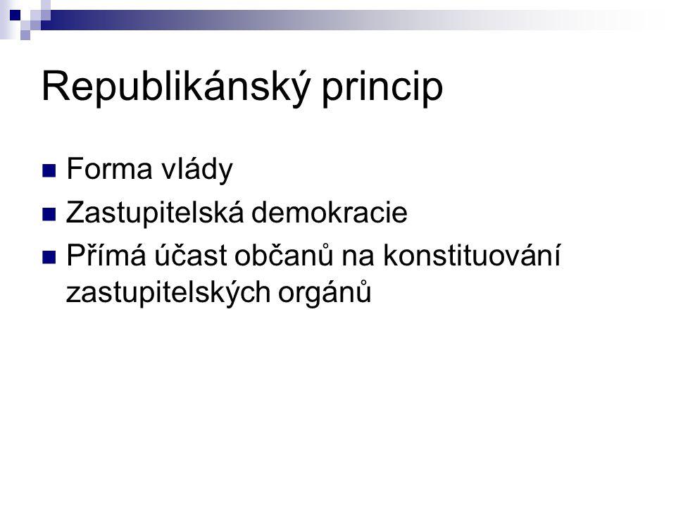 Republikánský princip