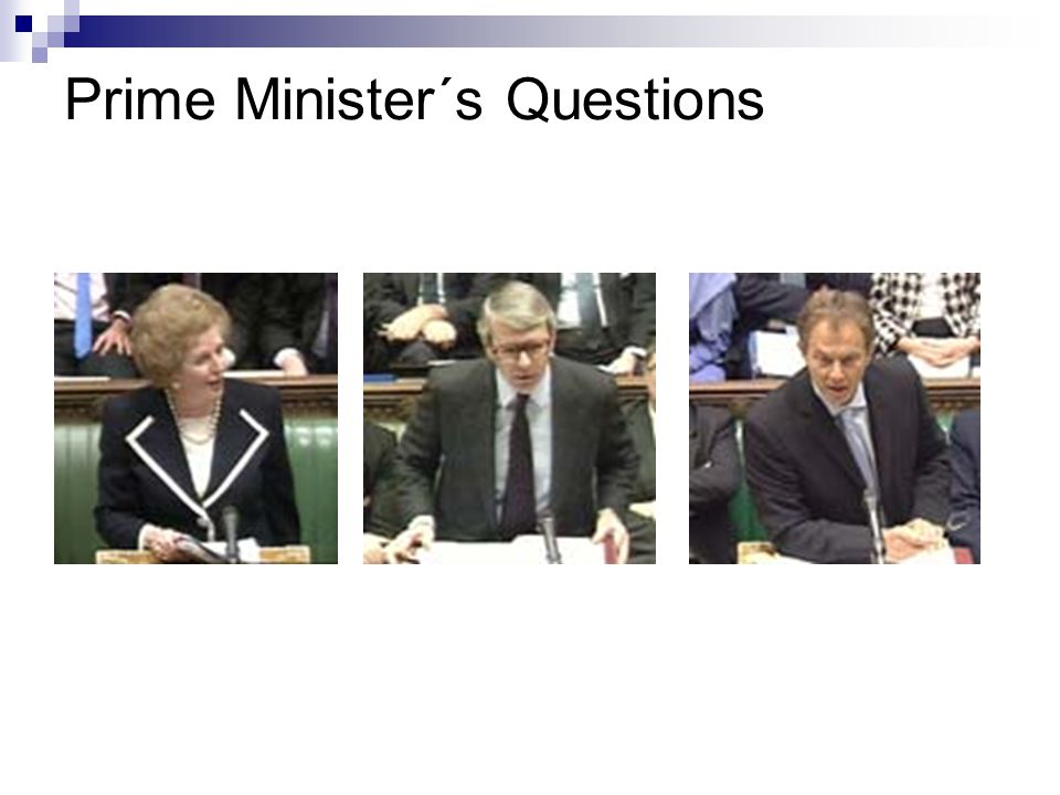 Prime Minister´s Questions