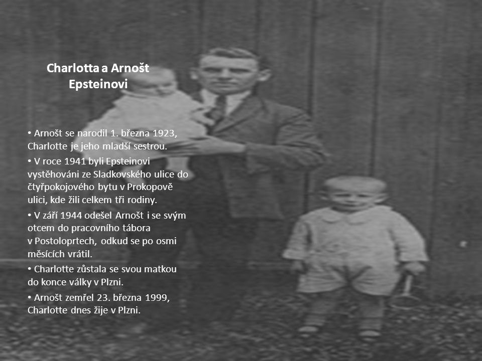 Charlotta a Arnošt Epsteinovi