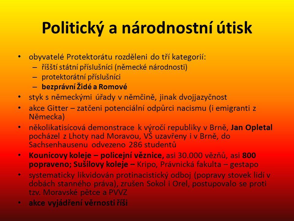 Politický a národnostní útisk