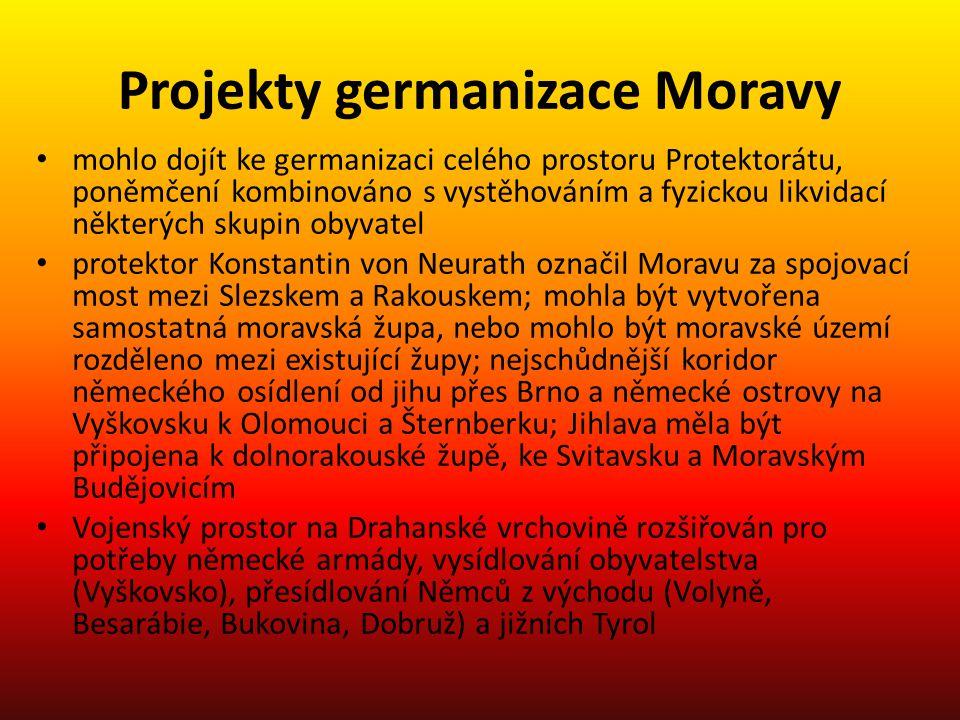 Projekty germanizace Moravy