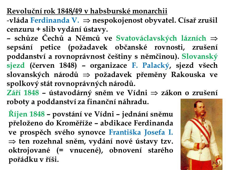 Revoluční rok 1848/49 v habsburské monarchii