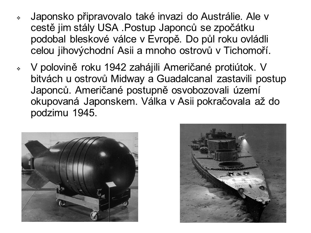 Japonsko připravovalo také invazi do Austrálie