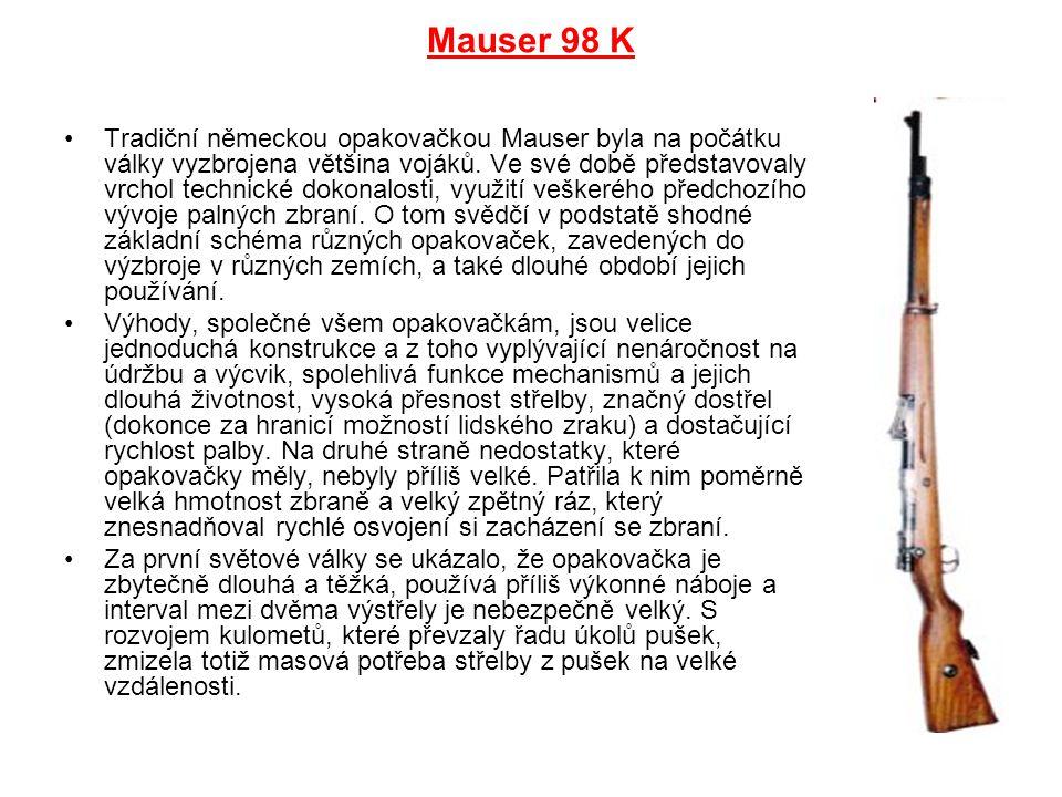 Mauser 98 K