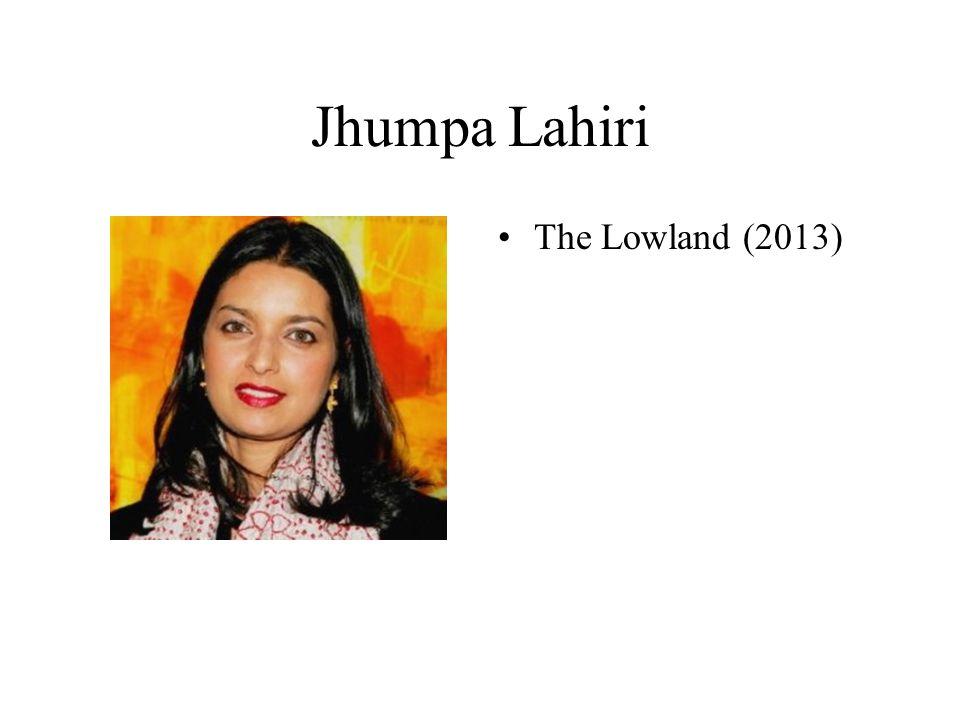 Jhumpa Lahiri The Lowland (2013)