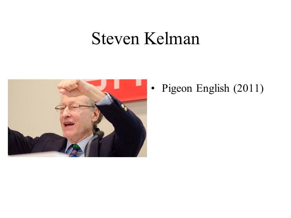 Steven Kelman Pigeon English (2011)